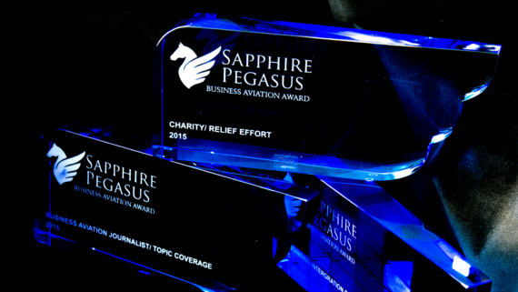 Sapphire Pegasus Award will be introduced to the Caribbean in St. Maarten at Aviation Meetup